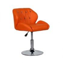 Кресло косметическое HC949N оранжевое | Venko