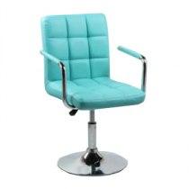 Кресло косметическое HC1015NP бирюзовое | Venko