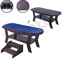 Массажный стол S 859 (темно-коричневый) | Venko
