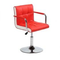 Кресло косметическое HC-811N красное | Venko