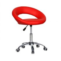 Косметическое кресло HC104KC красное | Venko