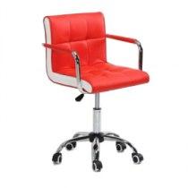 Косметическое кресло HC-811K красное   Venko