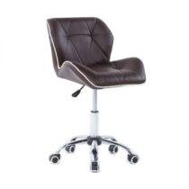 Косметическое кресло HC1062K коричневое | Venko