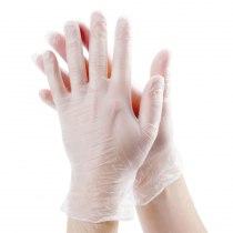 Виниловые перчатки опудренные L Polix PRO & MED, 100 шт | Venko