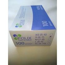 Перчатки нитриловые чувствительные XS Polix PRO & MED, 100 шт | Venko - Фото 49930