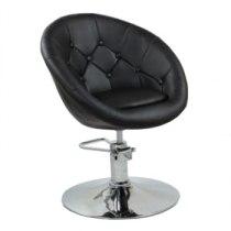 Кресло парикмахерское HC-8516H черное | Venko