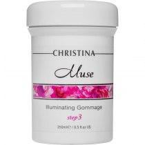 Отшелушивающий гоммаж для сияния кожи  Christina - Illuminating Gommage Muse, шаг 3, 250 мл | Venko
