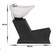 Мойка парикмахерская без кресла LADY (керамика Космо Италия) | Venko