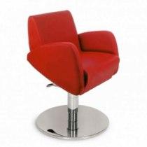 Кресло парикмахерское VM806 на пневматике хром | Venko