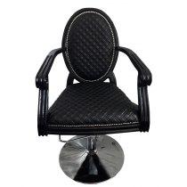 Кресло парикмахерское Mozart на пневматике хром | Venko
