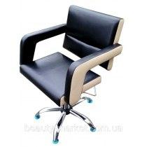 Крісло перукарське Flamingo на пневматиці хром | Venko