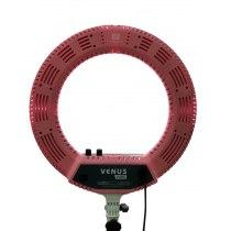 Кольцевая LED лампа V48C розовая | Venko - Фото 51303