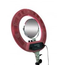 Кольцевая LED лампа V48C розовая | Venko - Фото 51307