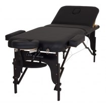Массажный стол складной ArtOfChoise Raf (Черный) | Venko - Фото 51393