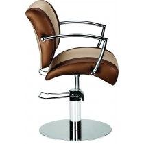 Кресло парикмахерское Eve на гидравлике хром | Venko - Фото 51770