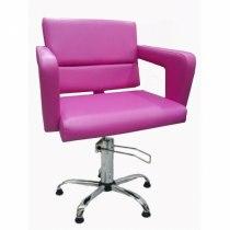 Кресло парикмахерское Flamingo на гидравлике хром | Venko - Фото 51774