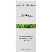 Дневной крем Абсолютная защита с тоном SPF 20 Christina - Ultimate Defense Tinted DayCream SPF20 Bio Phyto, 75 мл | Venko - Фото 52104