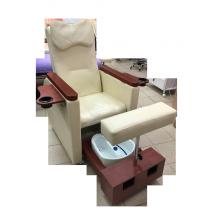 Педикюрное кресло с вибромассажной ванночкой для ног SPA-120 white (белое)   Venko - Фото 52577