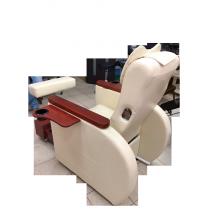 Педикюрное кресло с вибромассажной ванночкой для ног SPA-120 white (белое)   Venko - Фото 52579