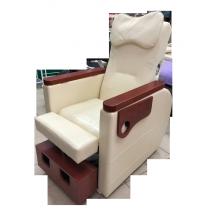 Педикюрное кресло с вибромассажной ванночкой для ног SPA-120 white (белое)   Venko - Фото 52583