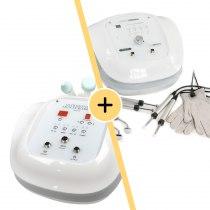 Аппарат ультразвуковой терапии Zemits Leon 2.3 + Аппарат микротоковой терапии Zemits Adrinox   Venko