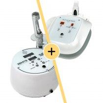 Ультразвуковой скрабер Zemits Leon 3.2 + Аппарат электропорации Zemits Klein Meso   Venko