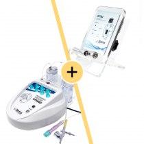 Аппарат кислородной мезотерапии и аквапилинга Zemits Wasser+Аппарат RF лифтинга Zemits INTRO   Venko