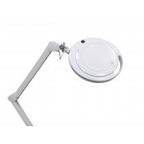 Лампа-лупа настольная 6017-H 5D 9W,серебристый ободок. Холодный свет | Venko - Фото 53060