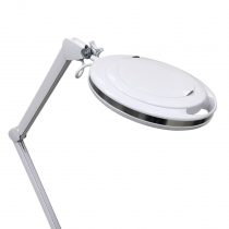 Лампа-лупа настольная 6017-H 5D 9W,серебристый ободок. Холодный свет | Venko - Фото 53063