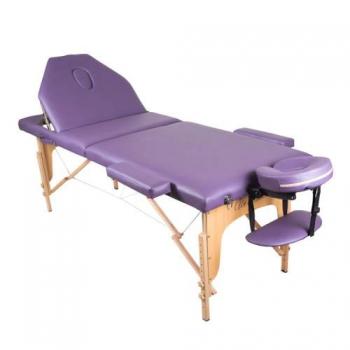 Массажный стол складной ArtOfChoise Ros (Фиолетовый) СНЯТО | Venko