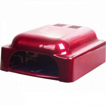 УФ лампа для ногтей LN-828 (Красно-белая)