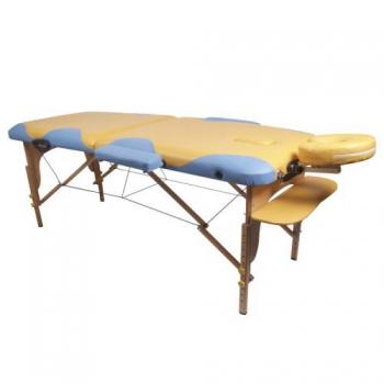 Массажный стол складной Miracle Plus yellow/blue | Venko