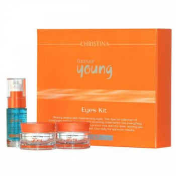 Набор для кожи вокруг глаз - Forever Young Eyes Kit (3 препарата) | Venko
