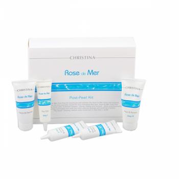 Постпилинговый уход - Rose de Mer Post-Peel Kit, (5 препаратов)