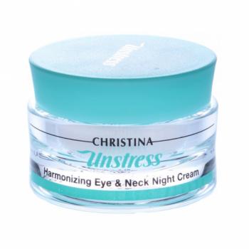 Ночной крем для кожи вокруг глаз - Unstress Harmonizing Eye&Neck Night Cream, 30 мл