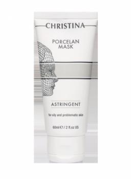 Поросуживающая фарфоровая маска - Porcelan Masque Astringent, 60 мл