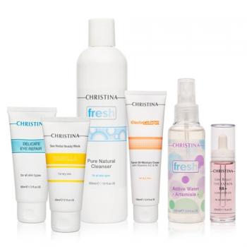 Набор для нормальной и сухой кожи (6 препаратов)