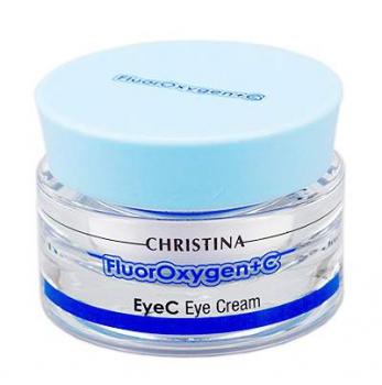 Крем для зоны вокруг глаз - FluorOxygen+C Eye Cream, 30 мл | Venko