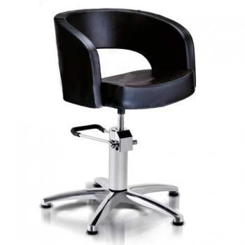 Кресло парикмахерское VM804 на гидравлике хром | Venko