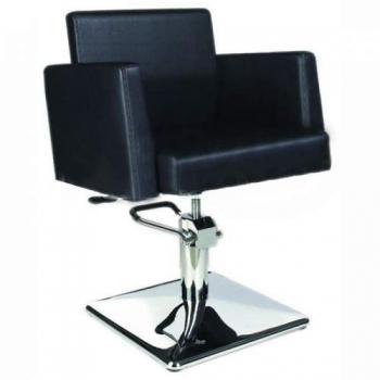 Кресло парикмахерское VM814 на гидравлике хром | Venko