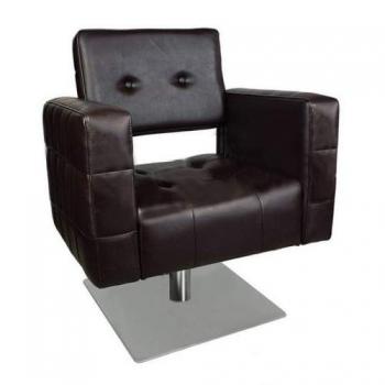 Кресло парикмахерское VM830 на гидравлике хром | Venko