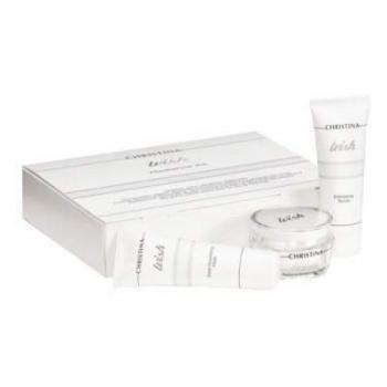Омолаживающий набор 40+ (5 препаратов с пробником крема для кожи вокруг глаз Wish) | Venko
