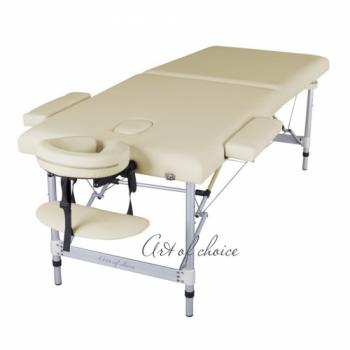 Массажный стол складной ArtOfChoise Dio (Светло-бежевый) | Venko