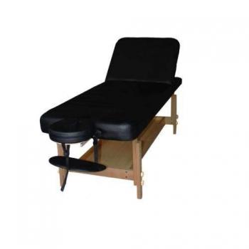 Массажный стол стационарный ArtOfChoise Don (Черный) | Venko
