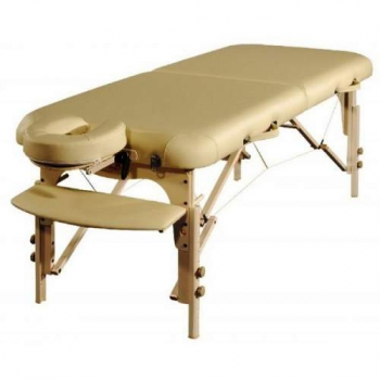 Массажный стол складной Lotos Cream, Life Gear
