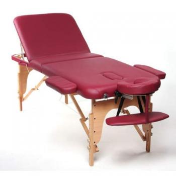 Массажный стол складной Charm Burgundy, Life Gear | Venko