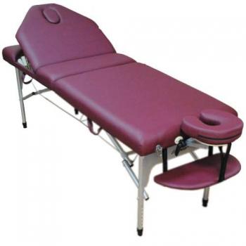 Массажный стол складной Elite burgundy Life Gear | Venko