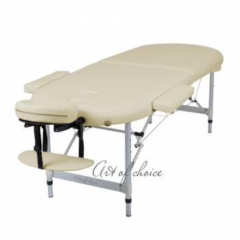 Массажный стол складной ArtOfChoise Ros (Светло-бежевый) СНЯТО | Venko