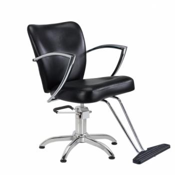 Парикмахерское кресло гидравлическое VT6316 (Черное)