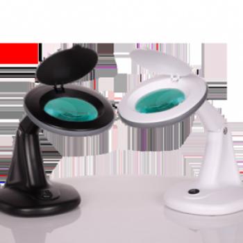 Лампа-лупа настольная 2012В черная